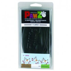 PAWZ Boots - X-Large12pk Black