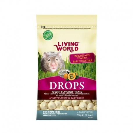 Régals - Drops -LW Hamster(Yogourt)75G-V LIVING WORLD Friandises