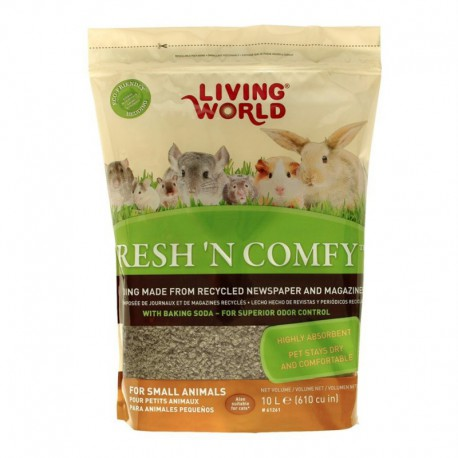 Litière Fresh  N Comfy LW, brune, 10 L-V