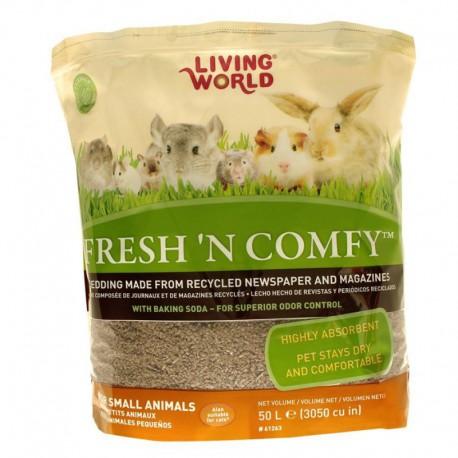 Litière Fresh  N Comfy LW, brune, 50 L-V
