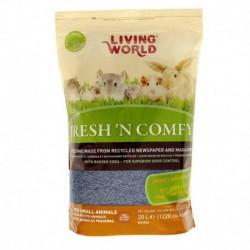 Litière Fresh N Comfy LW, bleue, 20 L-V