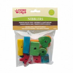 LW Nibblers Assorted Wood Chew Toys
