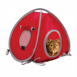 LW Tent, Small, Red/Grey