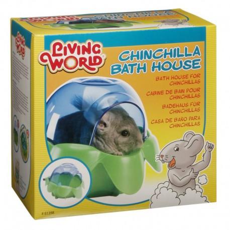 Bain de poussière LW p/chinchillas-V LIVING WORLD Accessoires Divers