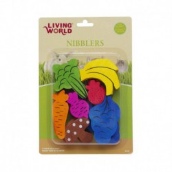 LW Nblers Wood Chews -Fruit/Veggie Mix-V