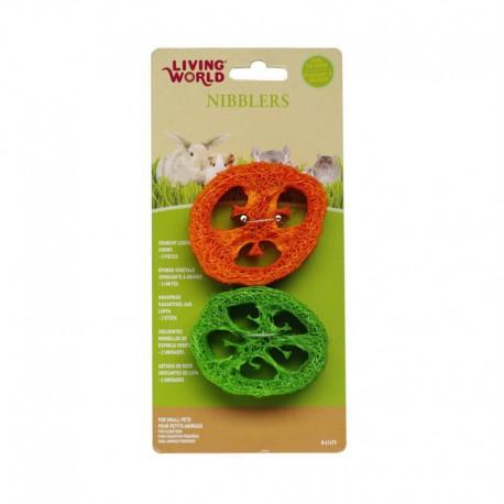 Tranches d éponge végétale Nibblers LW-V
