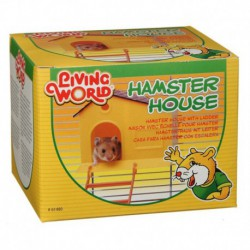LW Hamster House w/ladder-V