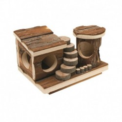LW TreeHouse-Real Wood Activity Center-V