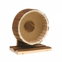 Tree House LW, roue en vrai bois-V