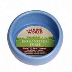 LW Ergonomic Dish-Blue-Lg-V