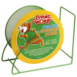 LW Wire-Mesh Hamster Wheel 7. green-V