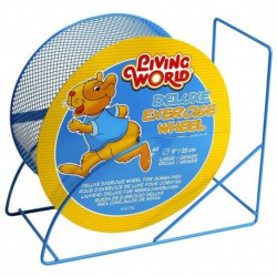 LW Wire-Mesh Hamster Wheel 9. blue-V