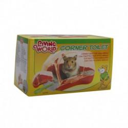 PROMO - Oct - LW toilettes pour hamster, M, rouge-V LIVING WORLD Accessoires Divers