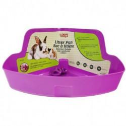 Bac à litière LW p. petits anim,violet