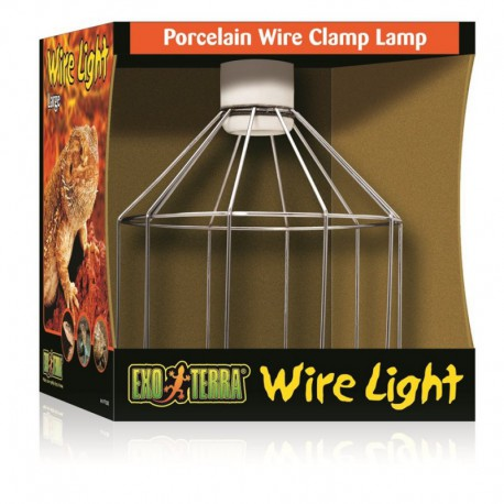 Lampe À Pince En Porcelaine-V