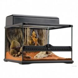 EX All Glass Terrarium -45x45x30cm w.BG