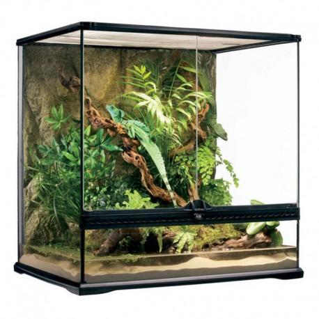 Terrarium en verre ExoTerra,60x45x60cm-V