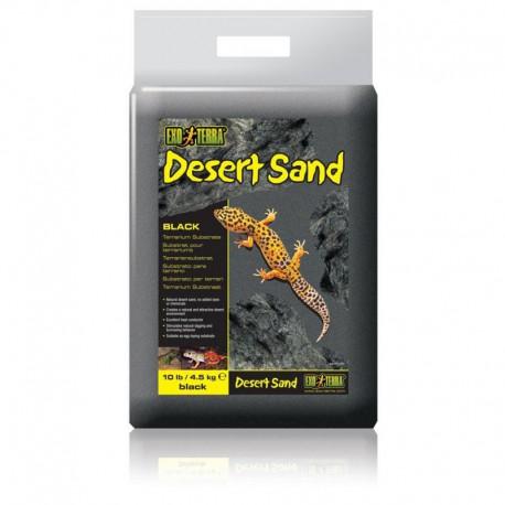 Sable Du Désert EXT, Noir, 4.5kg-V EXO TERRA Sables,Substrats,Litières