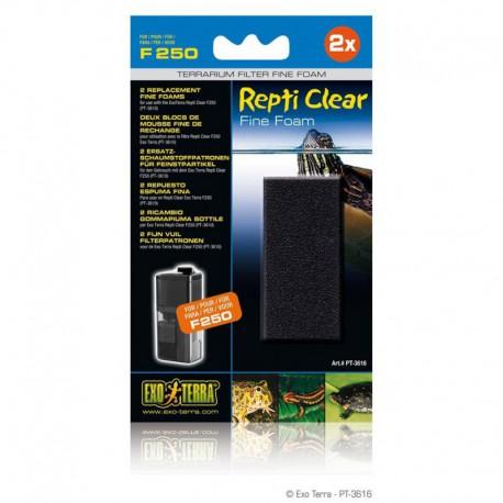 2 blocs mousse fine Repti Clear 250 EX-V