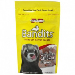 Bandits Ferret Treat, Chicken, 3 oz.
