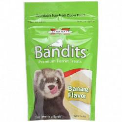 Bandits Ferret Treat, Banana, 3 oz.
