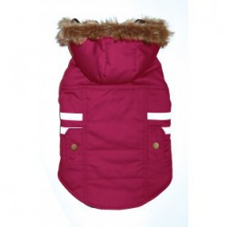 DQ PINK Snow Mantra Parka-M
