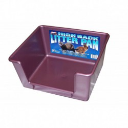Litter Pan - High Back, Asst. Colors