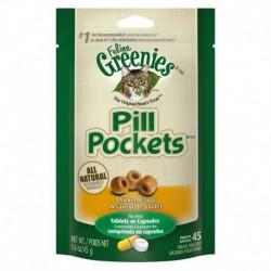 Greenies « Pill Pockets » Saveur de Poulet pour Chats 1.6oz