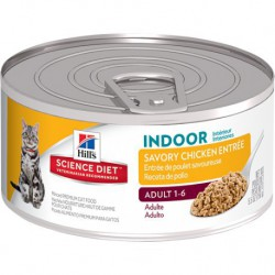 Hill s  ScDiet  Adult Indoor Savory Chicken Entrée  5,5 oz