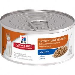Hill s Science Diet Adult 7 Savory Turkey Entrée 5,5 oz