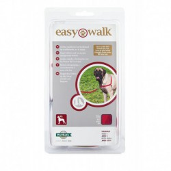EASY WALK HARNAIS X-LARGE ROUGE