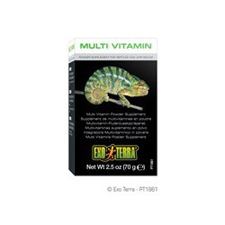 Vitamize Exo Terra,Multi-Vitamines,70G-V