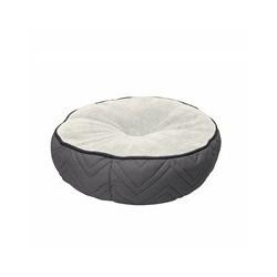 Dogit Dog Rnd. Mattress Bed, Grey-Whte
