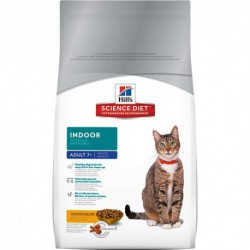 Hill s  Science Diet  Adult 7  Indoor  3,5 lbs