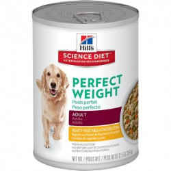 Hill s  ScDiet  Ad. Perf.W.Hearty Veg&Chicken Stew  12,5 oz