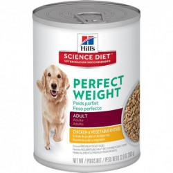 Hill s  ScDiet  Ad Perfect Weight Chicken & Veg.12,8 oz
