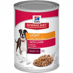 Hill s Science Diet Adult Light with Liver 13,1 oz