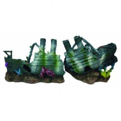 Aquafit Polyresin Steamer Shipwreck