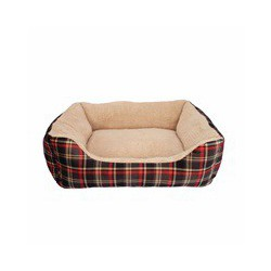 Dogit Dog Rect. Cuddle Bed, Rd Trtn,Sm