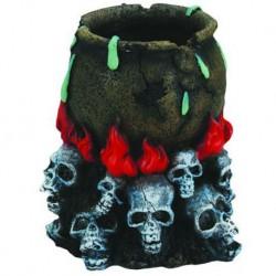 Aqua-Fit Skull Culdron 5x5x6 in