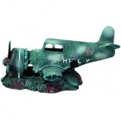 Aqua-Fit Sunken Fighter Plane 12x6x6 in