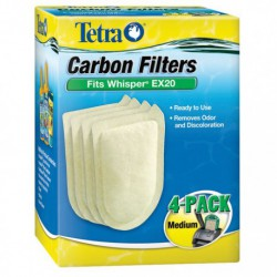 WHISPER EX Carbon Filter MED 4pk