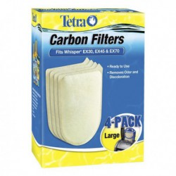 WHISPER EX Carbon Filter LG 4 pk