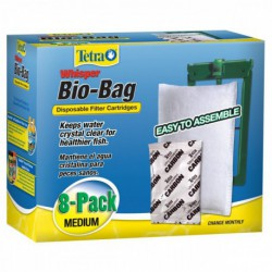 WHISPER Bio-Bag Med 8 pack