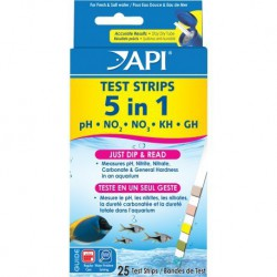 API 33G 5 in 1 Aquarium Test Strips