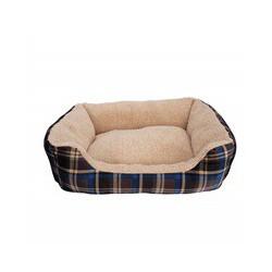 Dogit Dog Rect. Cuddle Bed, Bl Trtn,Sm