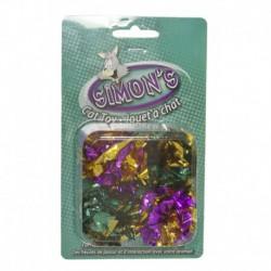 SIMONS Crinkle Balls 4/Pk