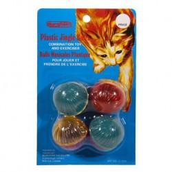 BURG Plastic Buzz Balls/4