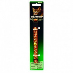 BURG Snag Free Break Away Leopard BURGHAM Laisses Et Colliers
