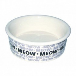 PS Newsprint Cat Dish  5.5in